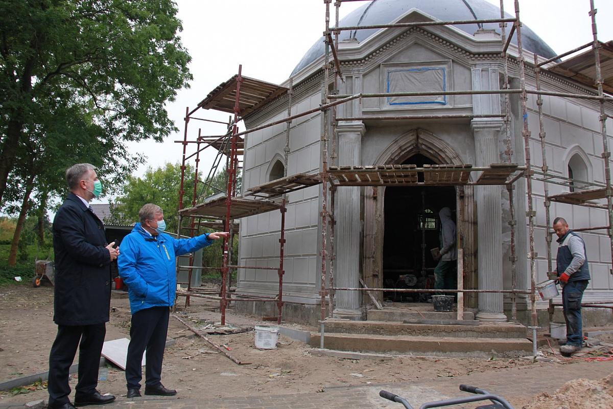 Zabytkowa kaplica rodziny Lange w Rybnie Wielkim zostanie odrestaurowana przy unijnym wsparciu
