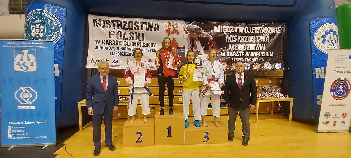 Medal z Mistrzostw Polski w Karate