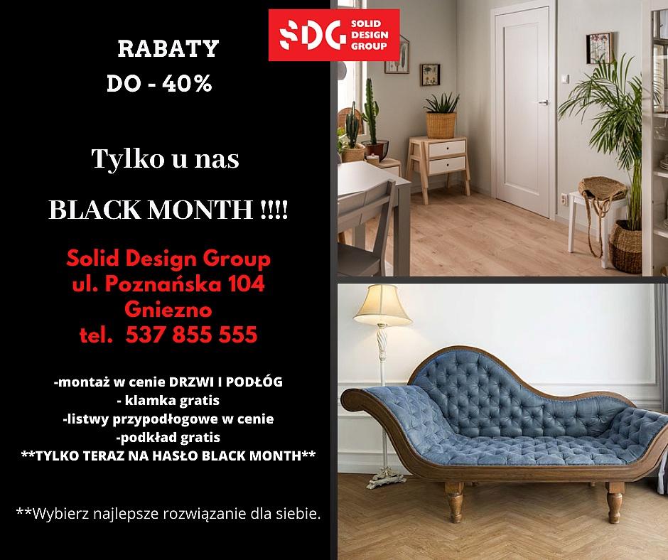 Black Month w Solid Design Group! Wielkie rabaty i mnóstwo gratisów!