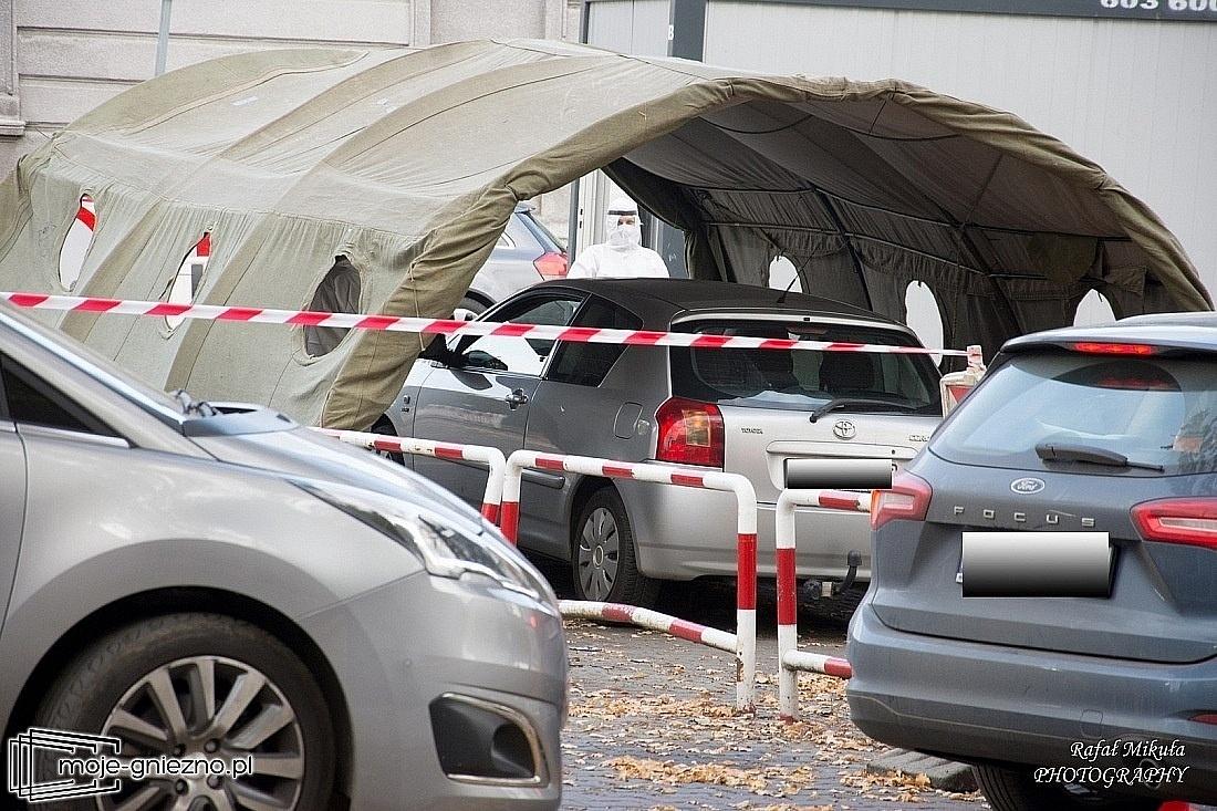 Od piątku mobilny punkt poboru wymazów przy ul. Strumykowej w Gnieźnie!