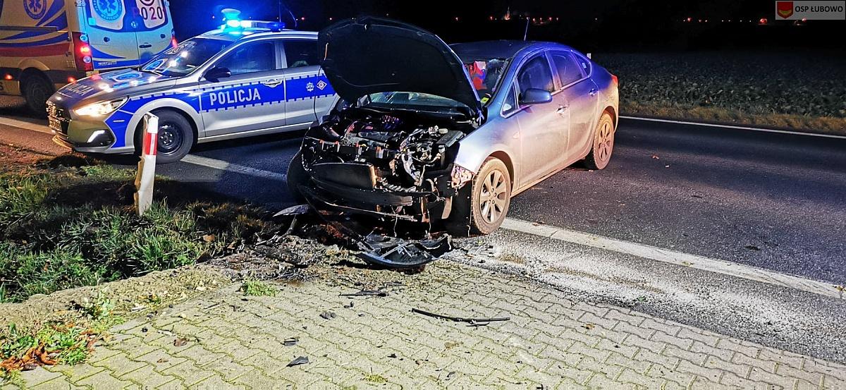 Wypadek w Dziekanowicach