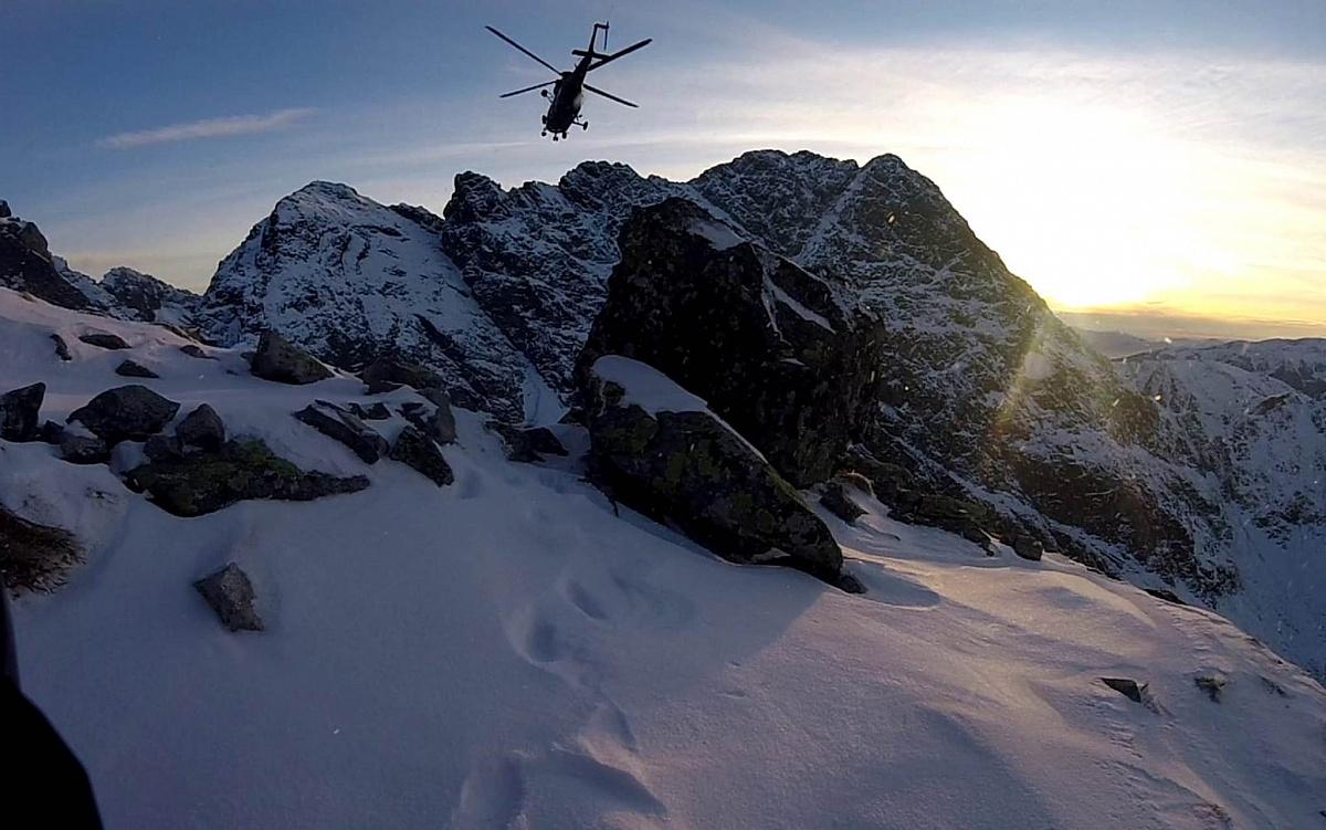 Sokół z Powidza zakończył dyżur w Tatrach! Żołnierze uczestniczyli w 14 akcjach ratunkowych!
