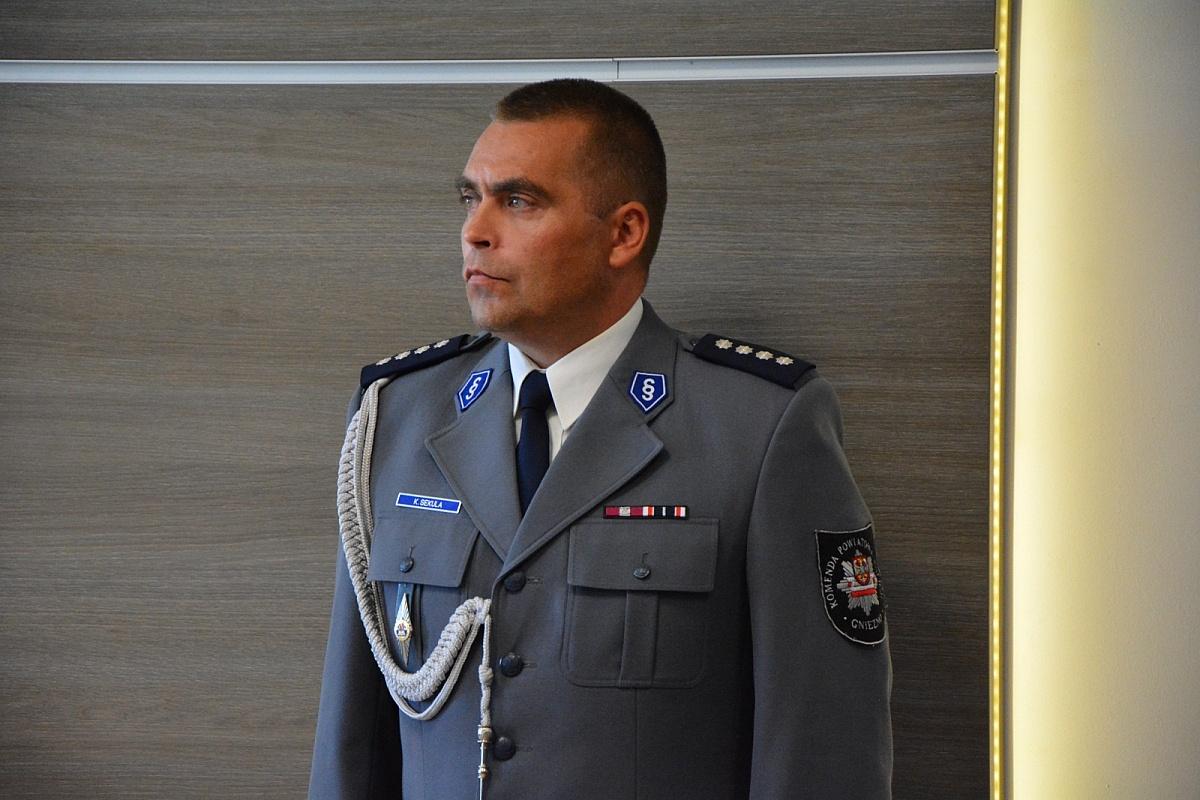Podinspektor Karol Sekula Naczelnikiem Wydziału Ruchu Drogowego Komendy Wojewódzkiej Policji w Poznaniu