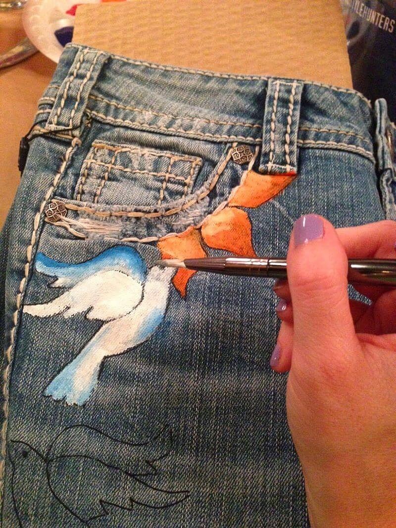 Projektowanie mody i pomysły na malowanie tkanin