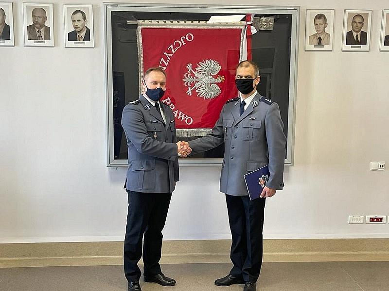 Awans zastępcy komendanta