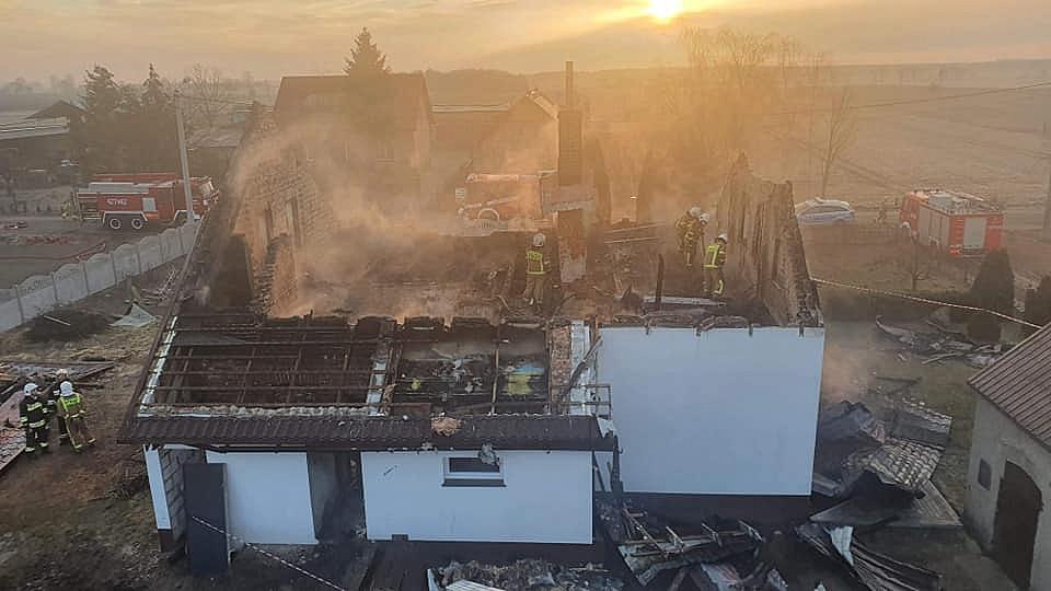 Tragiczny pożar w Charbowie! Nie żyje jedna osoba