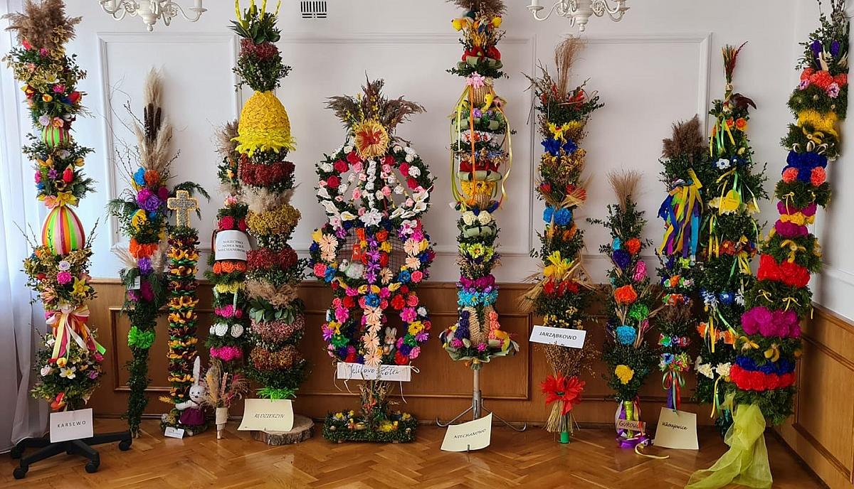 Niesamowite palmy przygotowane przez sołectwa Gminy Niechanowo