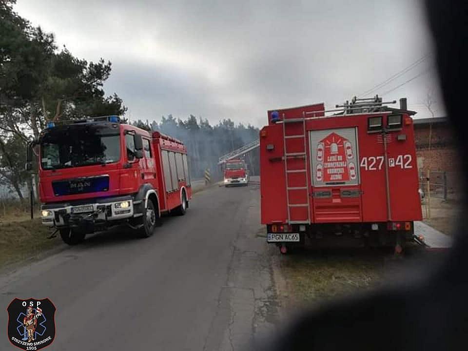 Pożar w Wierzbiczanach