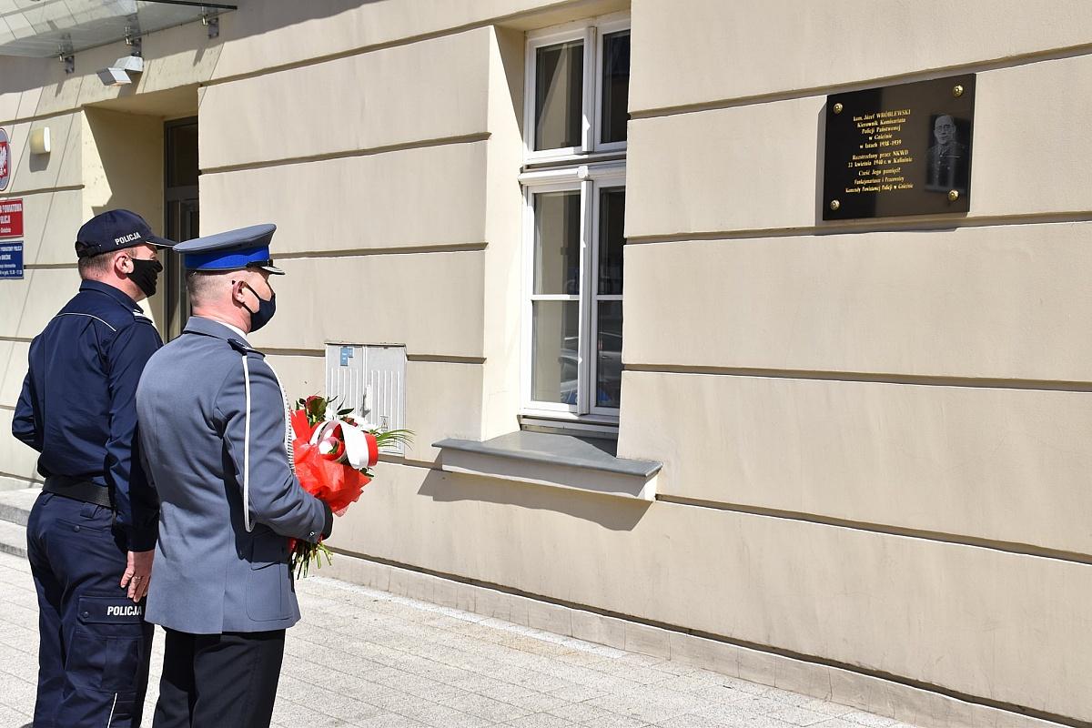 Policjanci upamiętnili 81. Rocznicę śmierci kom. Józefa Wróblewskiego