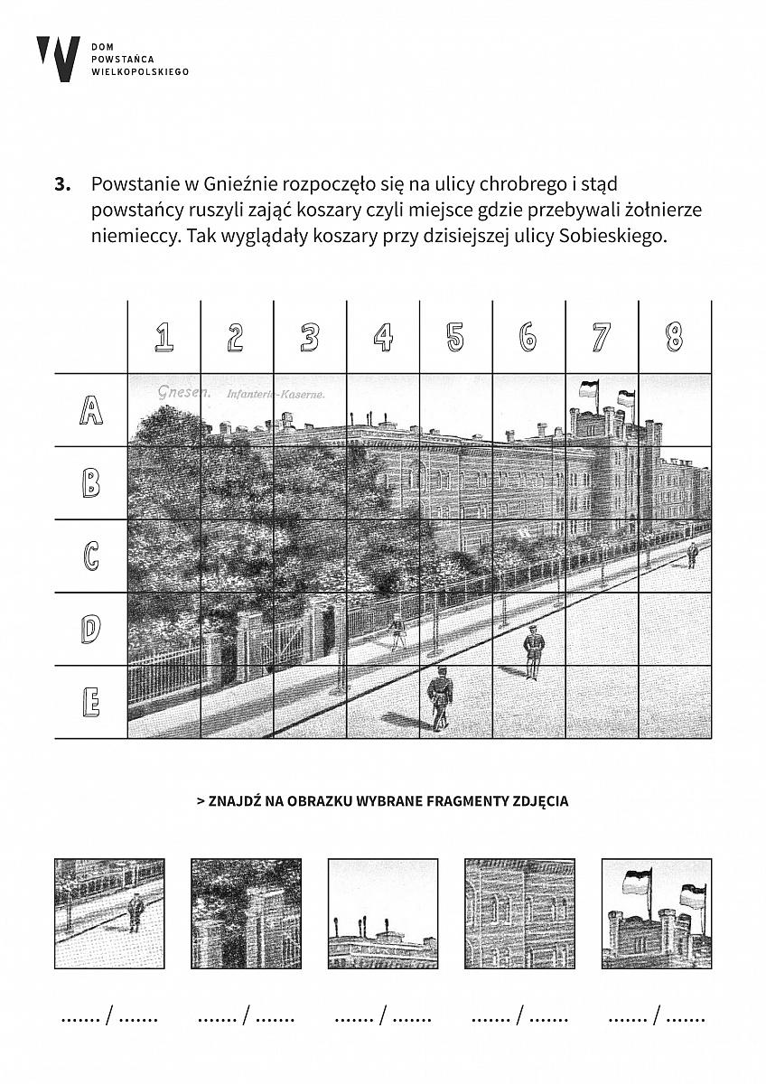 Edukacyjne karty o Powstaniu Wielkopolskim w Gnieźnie