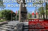 Symboliczne obchody 76. rocznicy zakończenia II Wojny Światowej