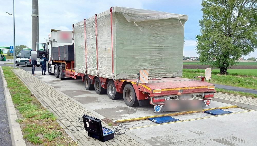 Nienormatywna stacja transformatorowa zatrzymana w Łubowie