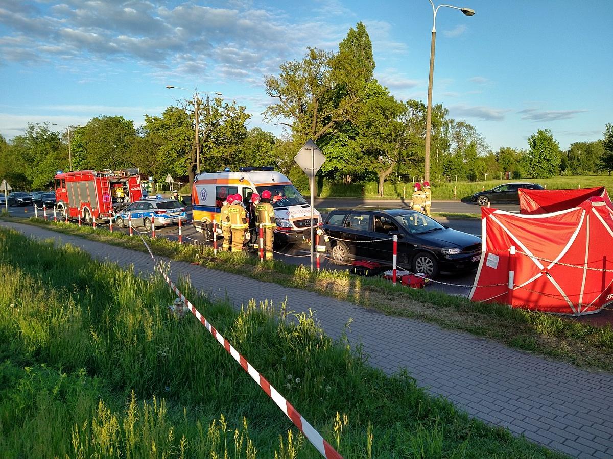 Sobotni wypadek na ul. Poznańskiej jednak tragiczny! Nie żyje 72-letni mężczyzna