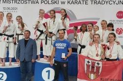 Znakomity występ Samurajów w Mistrzostwach Polski w Karate Tradycyjnym