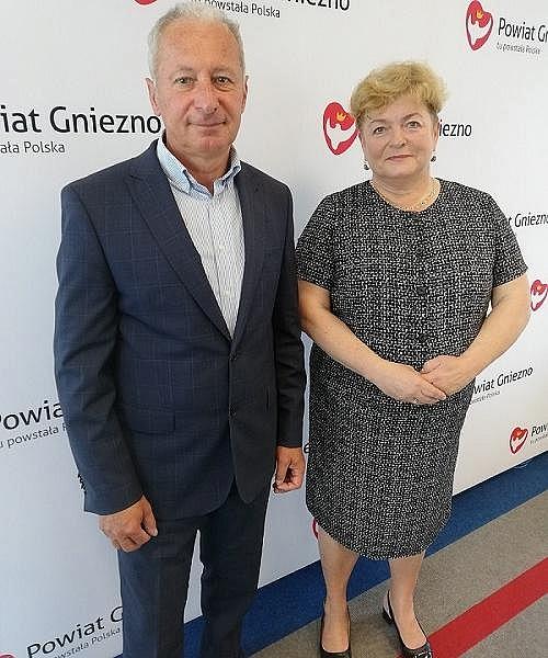 Danuta Winiarska w składzie Zarządu Powiatu Gnieźnieńskiego