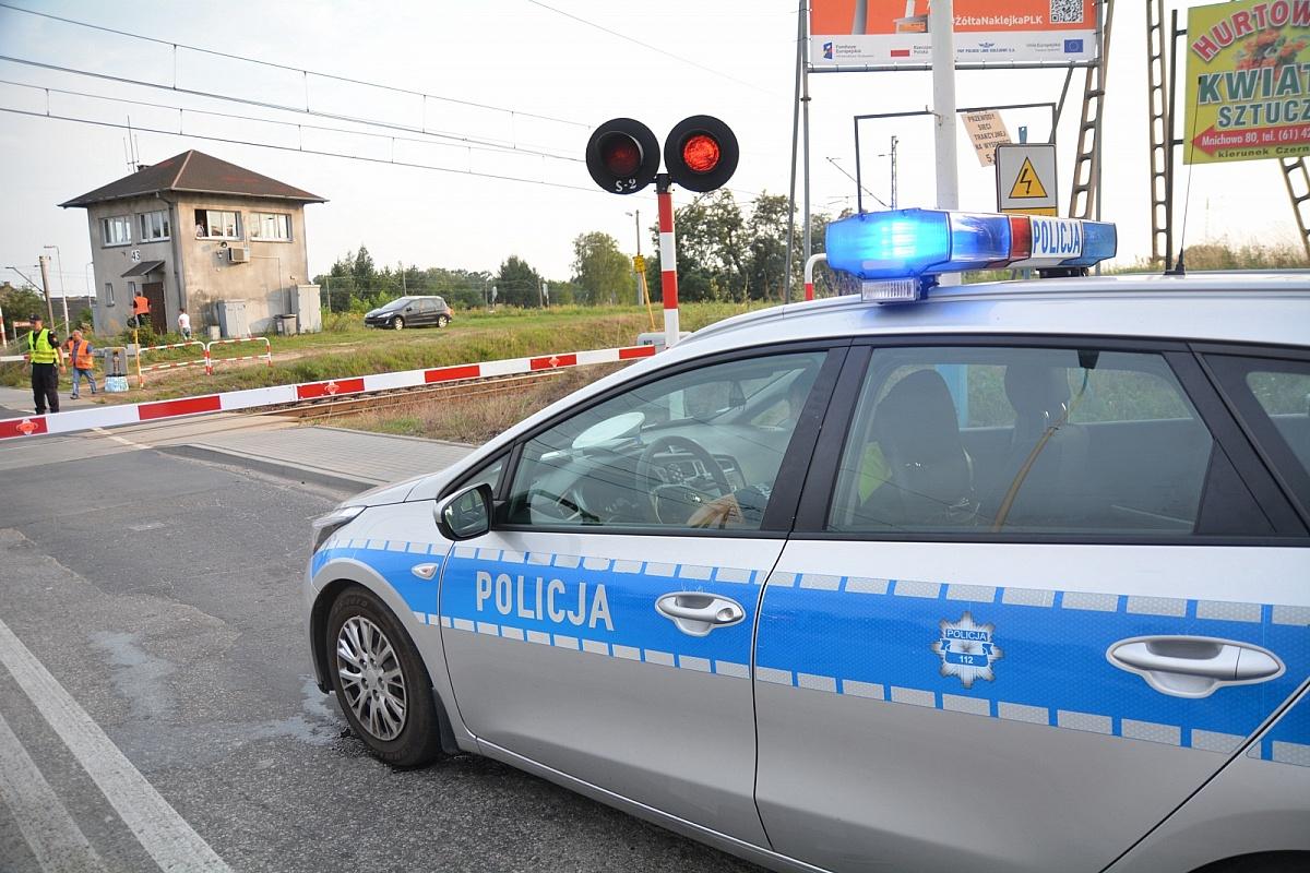 Bezkolizyjne skrzyżowanie w Kobylnicy na trasie kolejowej z Poznania do Gniezna