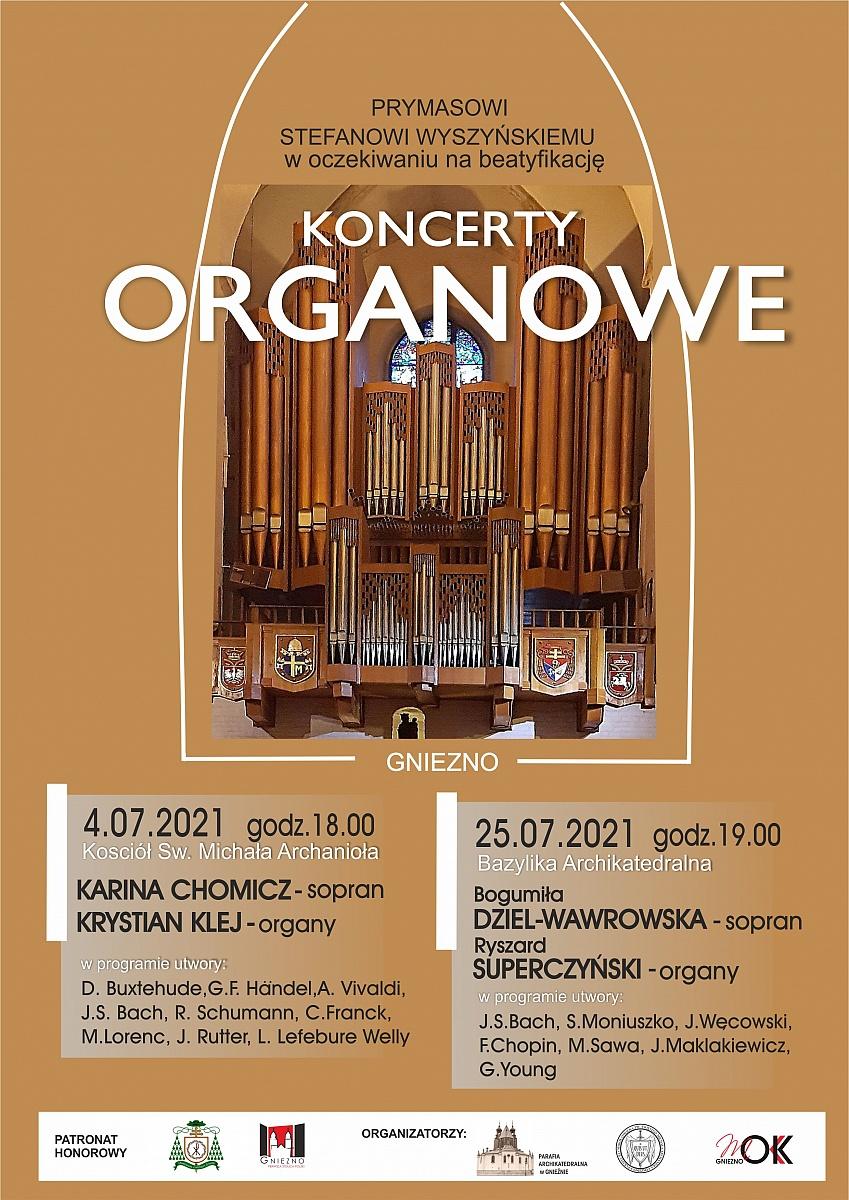 Koncerty organowe w Gnieźnie