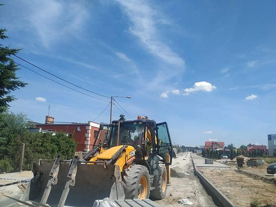 Przesunięty termin zakończenia I etapu rozbudowy ul. Wolności