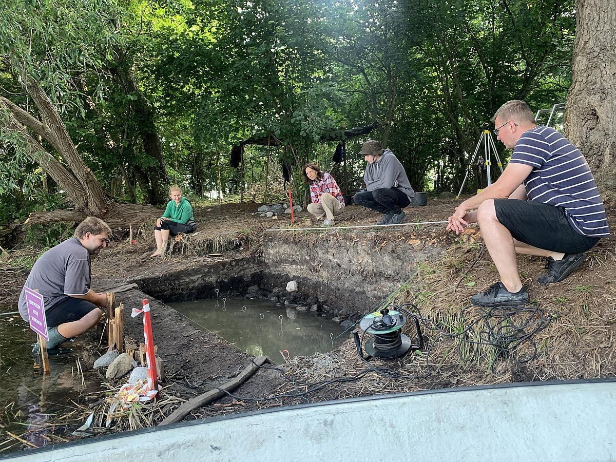 Badania archeologiczne na Ledniczce