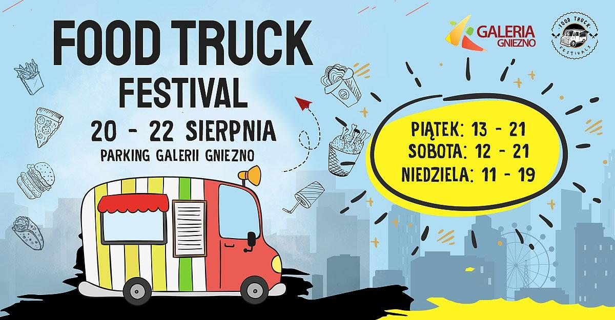 Food Truck Festivals już w ten weekend w Gnieźnie