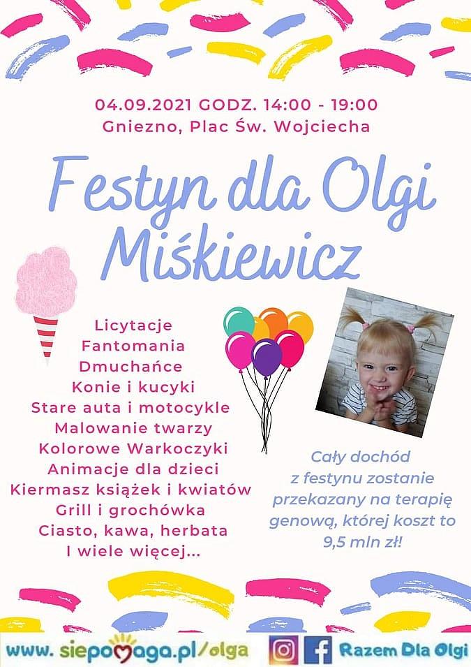 Festyn dla Olgi na Placu św. Wojciecha