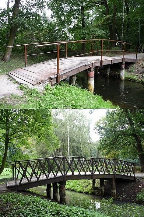 Nowe mostki w Parku Miejskim do końca tego roku