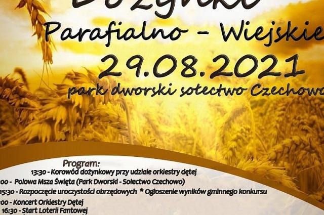 Dożynki w Czechowie! Moc atrakcji dla dzieci i dorosłych!