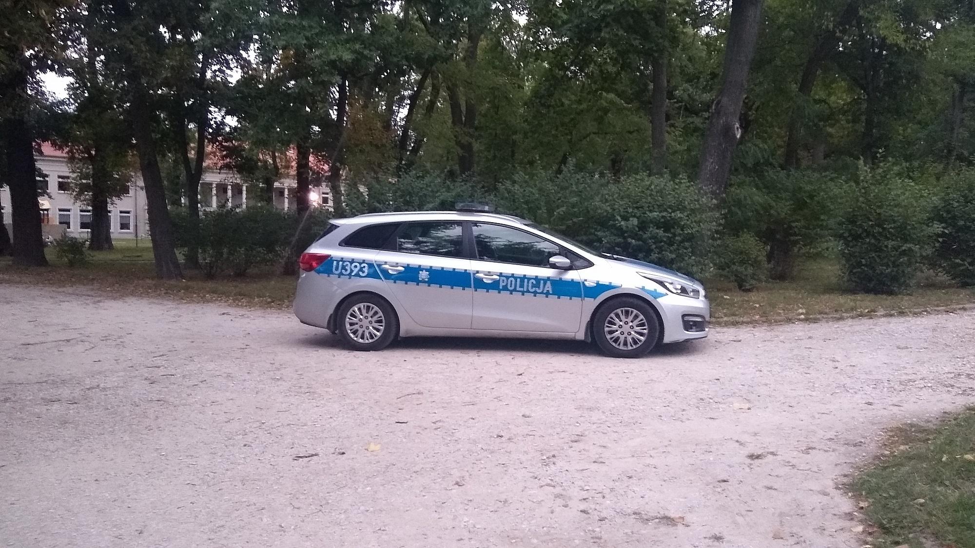 61-latek onanizował się w Parku Miejskim! Zatrzymali go świadkowie i przekazali Policji