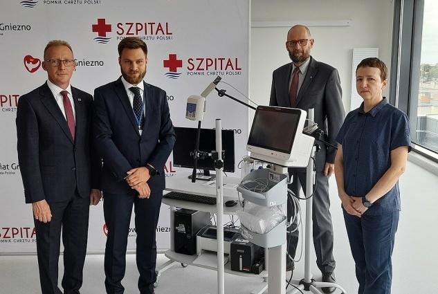 Nowy sprzęt zakupiony z miejskiego budżetu dla szpitala w Gnieźnie