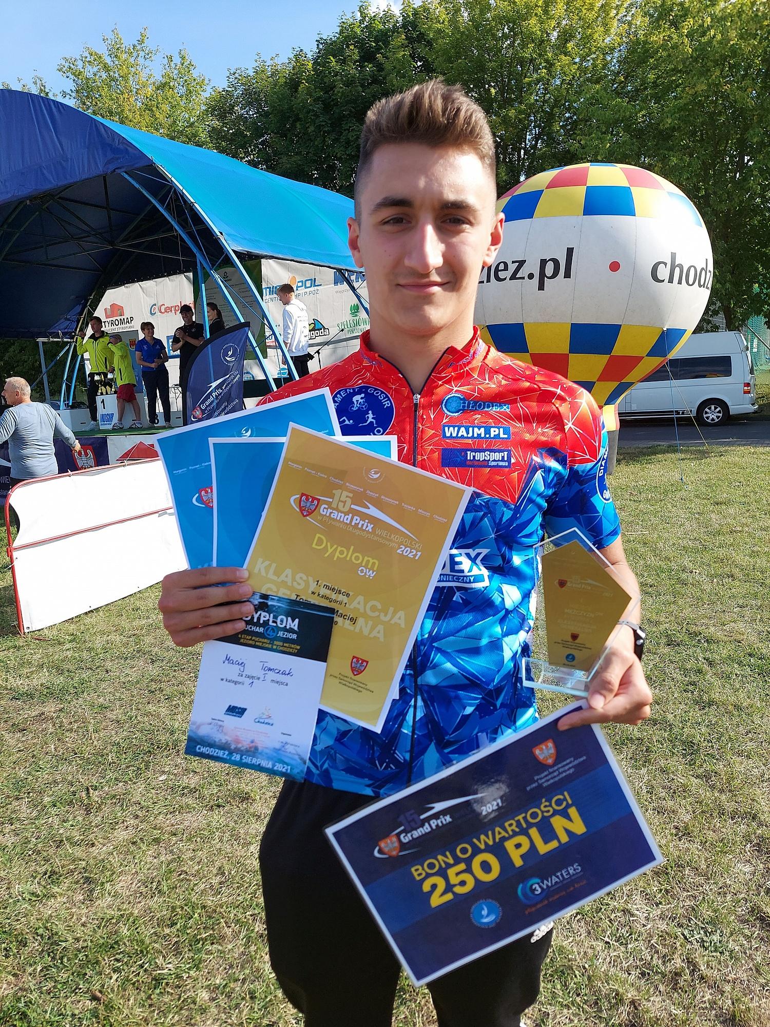GTT Diament Budex Gniezno z medalami w Finale Grand Prix Wielkopolski w Pływaniu Długodystansowym 2021