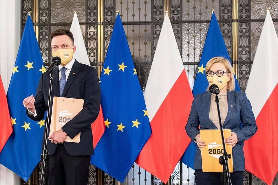 Paulina Hennig-Kloska rzecznikiem partii Polska 2050 Szymona Hołowni