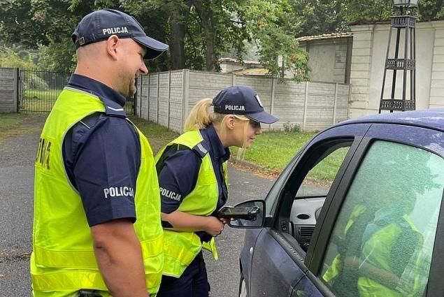 Upominki dla kierowców od policjantów
