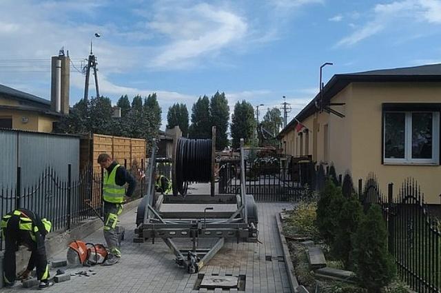 Trwa budowa dróg wewnętrznych na os. Grunwaldzkim