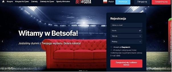 Rejestracja w BetSofa, jak to działa i dlaczego musisz wybrać akurat ten Serwis?